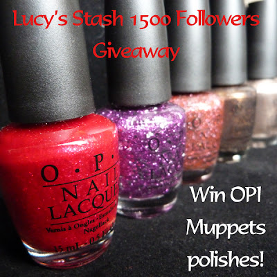Lucy's Stash: 1500 Followers Giveaway! (01/01)