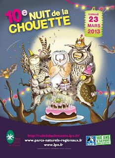 10 ème Nuit de la chouette à ANHAUX pays basque