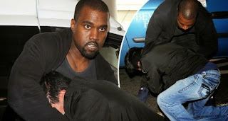 Kanye West paparazzi fight