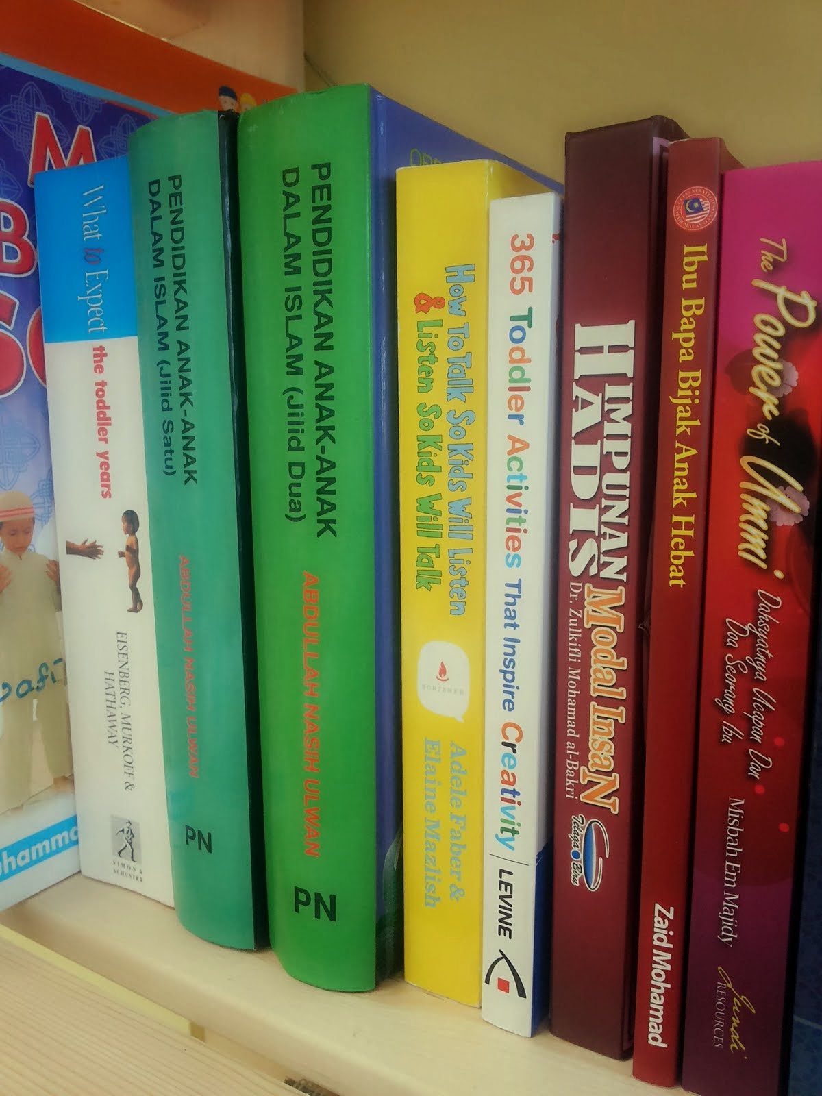 Sebahagian Buku Yang Dibaca Oleh Penulis