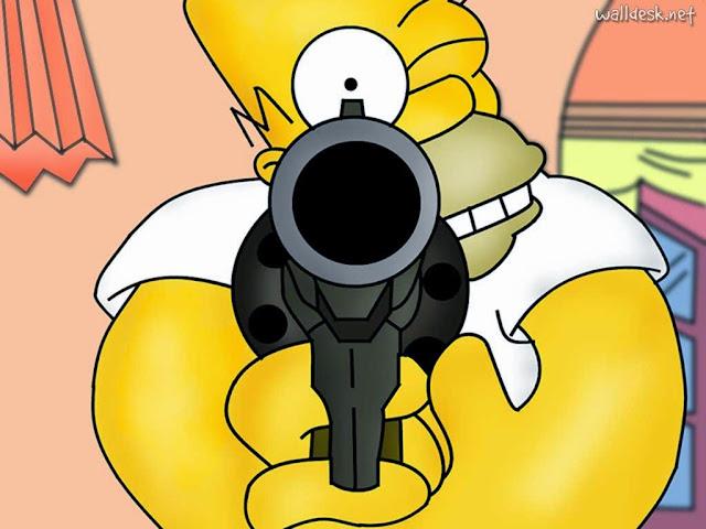 Imagens dos Simpsons para compartilhar no Face