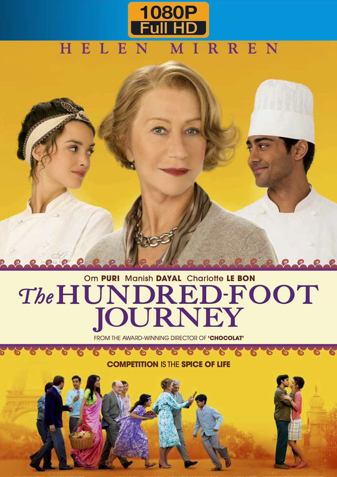 The Hundred Foot Journey 2014 1080p Dual