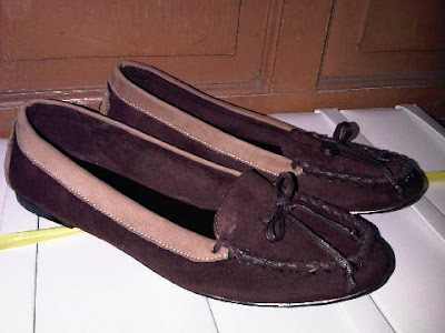 Aneka model sepatu sandal wanita murah,model sepatu wanita  BROWN_CREAM