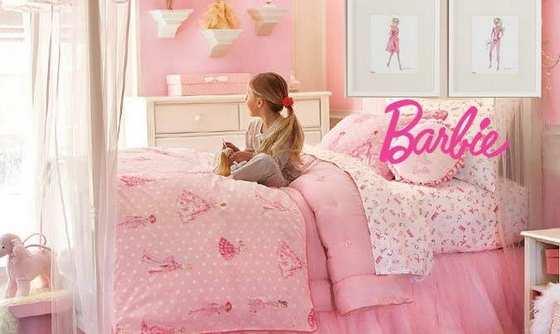 Quarto Decorado Infantil Da Barbie ~ Decora??o de Quarto da Barbie Fotos  Inscri??es 2016
