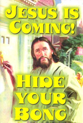 jesus is coming hide the porn