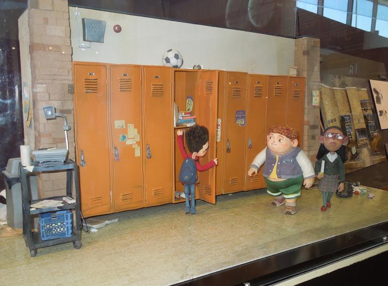 ParaNorman school model set