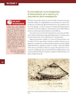 El arte inspirado en la Antigüedad, el florecimiento de la ciencia y la importancia de la investigación - Historia 6to Bloque 5 2014-2015