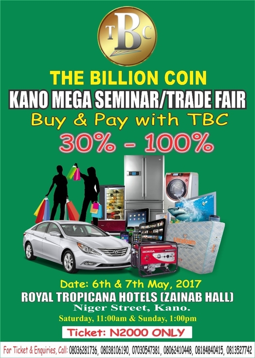 Mega Trade Fair in Kano