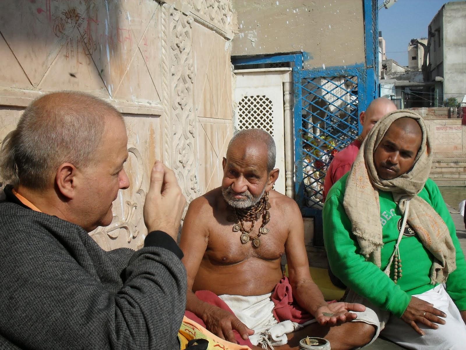 """Sri Prana Krishna Das Babaji Maharaja"""