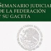 Nuevo Semanario Judicial de la Federación