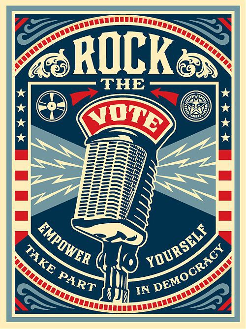 Register to Vote Online: ROCK THE VOTE