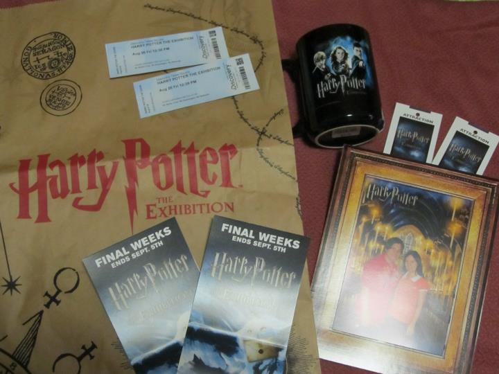 Harry Potter the Exhibition Souvenirs