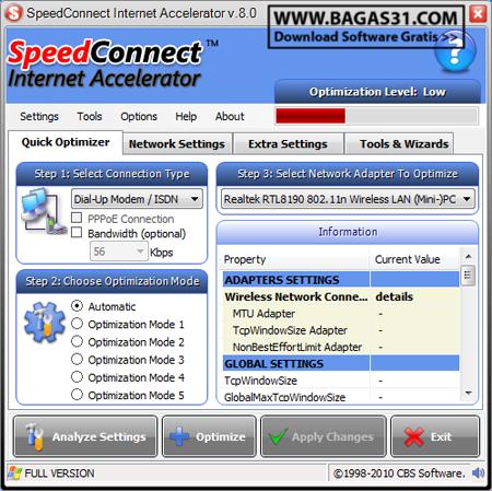 SpeedConnect Internet Accelerator 8.0 Full 2