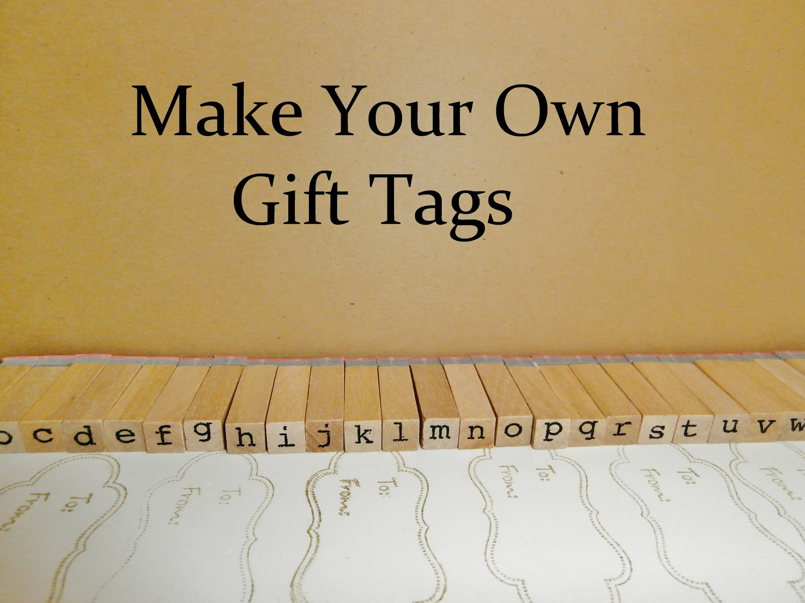 28 best make your own christmas gift tags easy diy for How to print your own labels at home