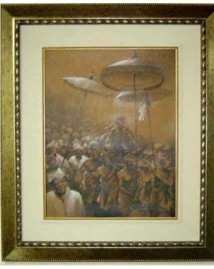 Lukisan,lukisan cat minyak,lukisan krayon,Raja bali,lukisn bali,lukisan kebudayaan,lukisan masarakat bali,lukisan krayon