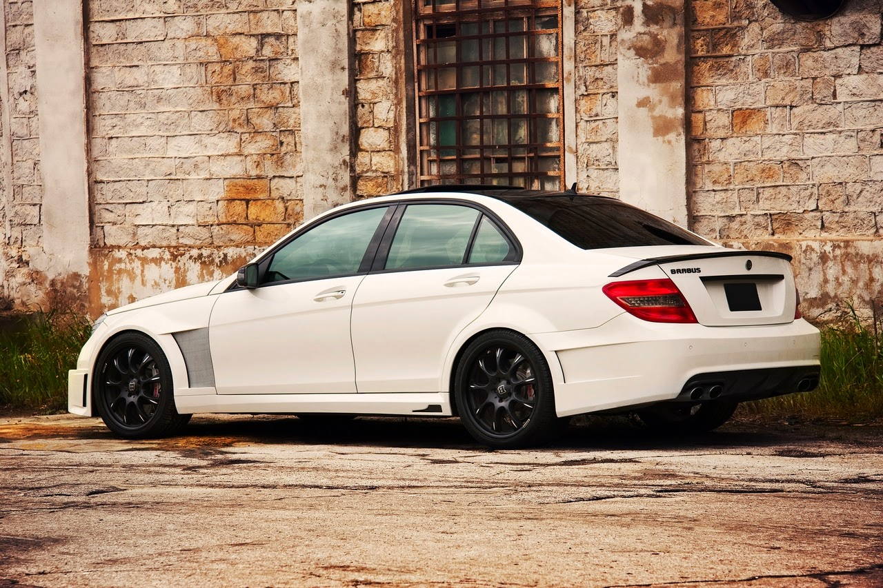 c63 brabus bullit based on mercedes w204 benztuning. Black Bedroom Furniture Sets. Home Design Ideas