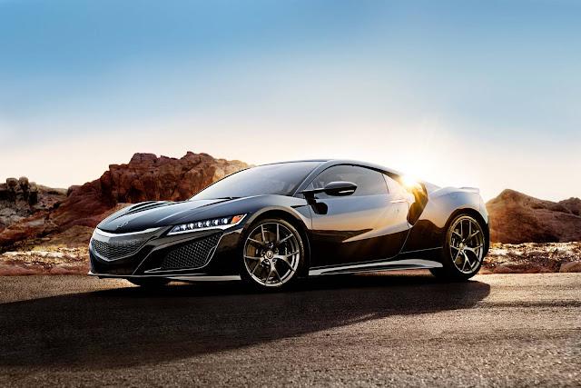 Novo Acura NSX 2017