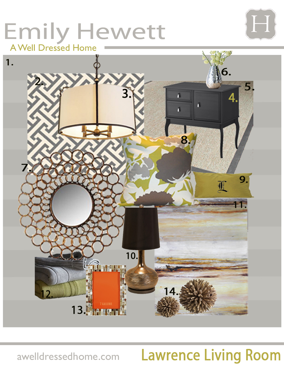 decorating the ville online design board for my new living room