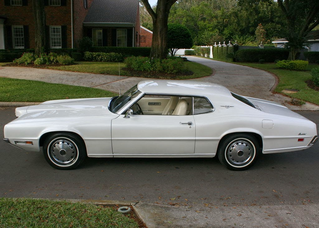 all american classic cars 1970 ford thunderbird 2 door hardtop. Black Bedroom Furniture Sets. Home Design Ideas
