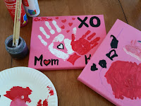 VALENTINE'S TODDLER CRAFT