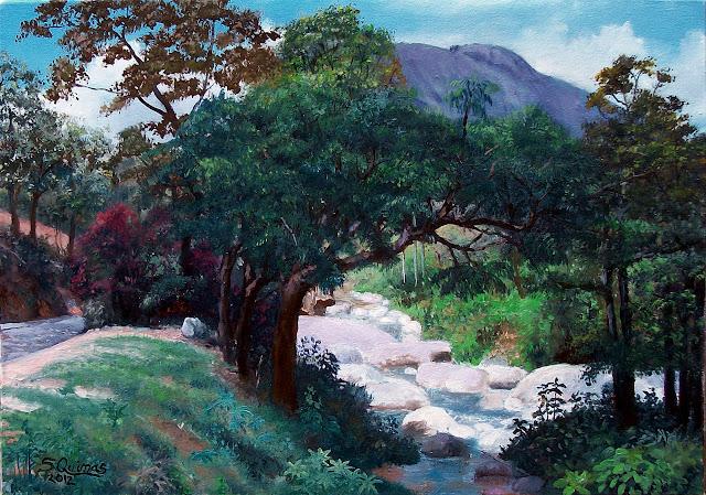 Rio Cônego por S. Quimas
