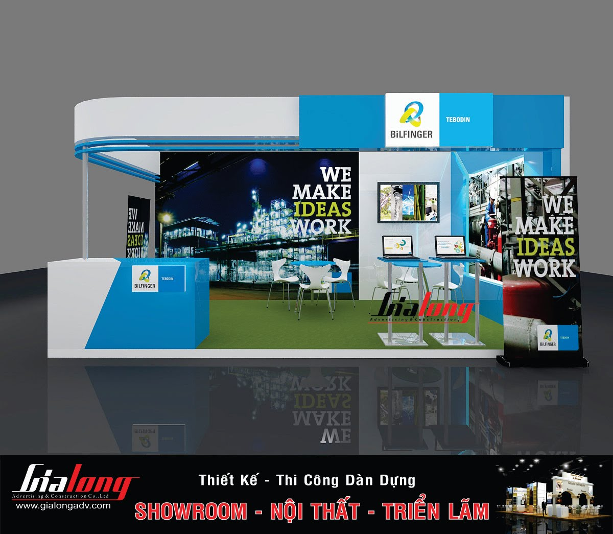 Exhibition Booth Contractor : Exhibition stand construction booth