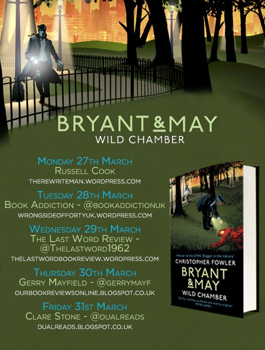 Bryant & May Blog Tour