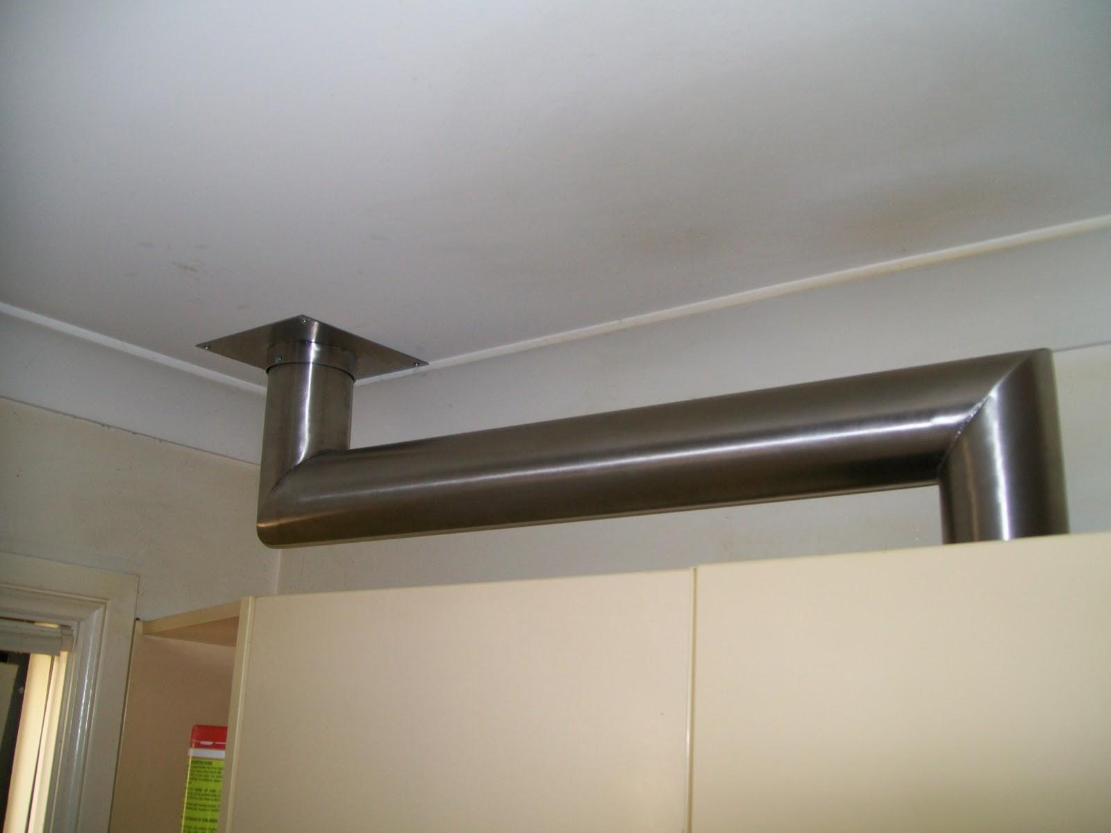 Hood Exhaust Pipe : Cropar pty ltd custom domestic rangehood exhaust pipe