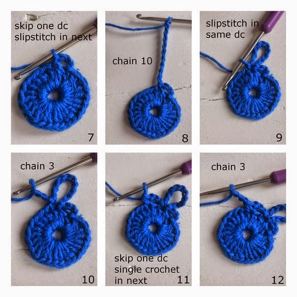 Juegos De Baño Tejidos A Crochet Paso A Paso:Flor al crochet explicada paso a paso con fotos