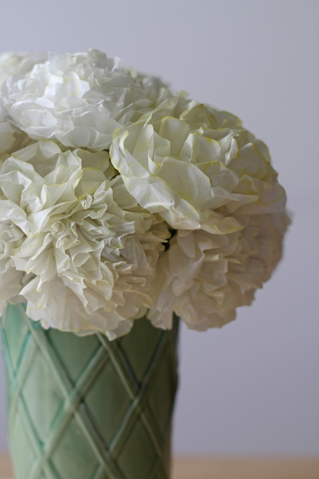 We can make anything tissue paper flowers the moral of this story is to improvise thus the tissue paper flower was born dhlflorist Image collections