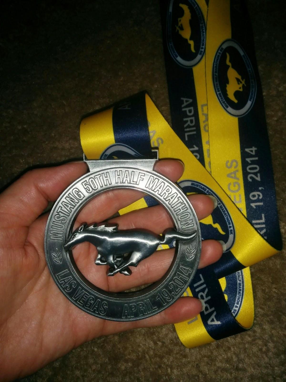 Mustang 50th Half Marathon