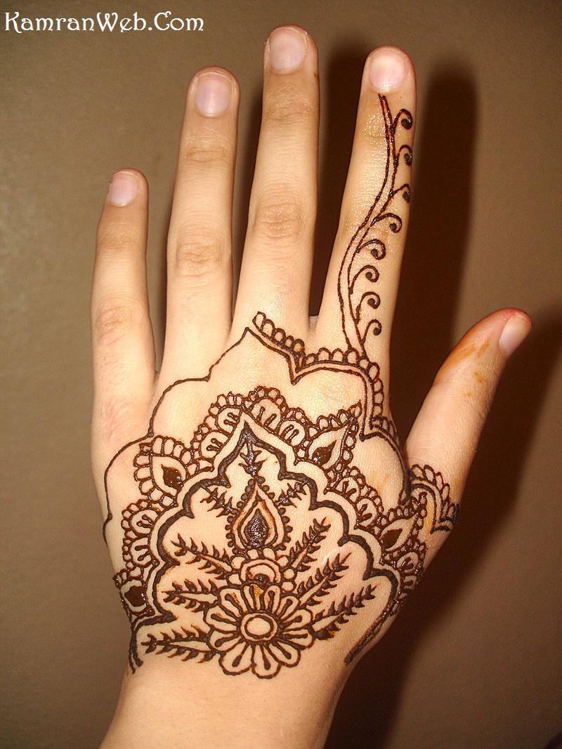 Simple Mehndi Designs For Hands For Beginners Women Interest