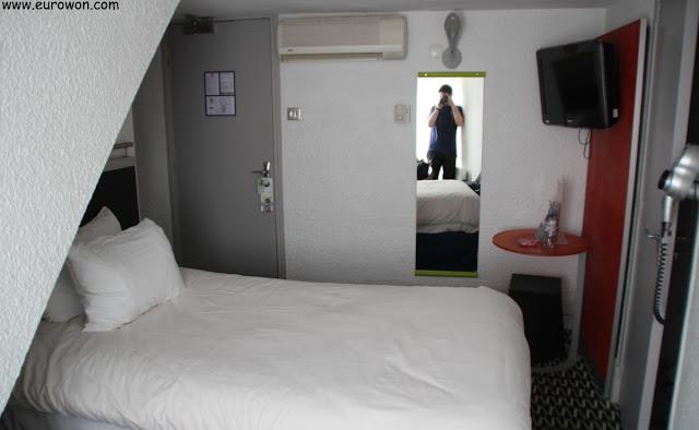 Habitación de hotel de París