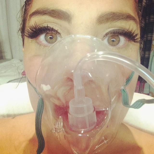 Lady Gaga se encuentra hospitalizada