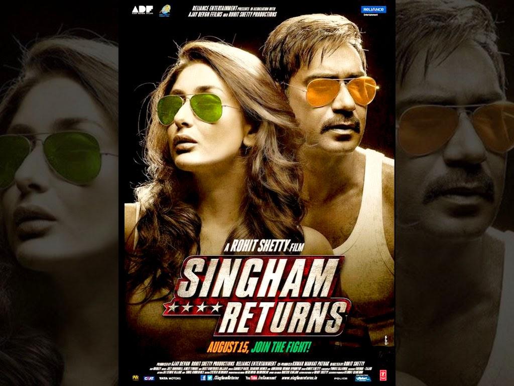 Singham Returns Movie watch online