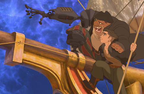 Disney+Treasure+Planet+Jim+&+Long+John+S