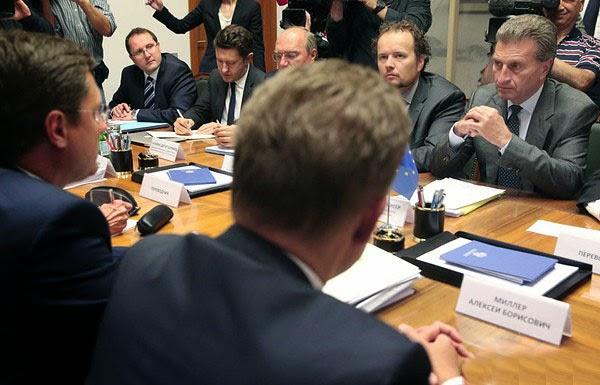 Очередной раунд газовых переговоров России, Украины и ЕС в Брюсселе завершился безрезультатно