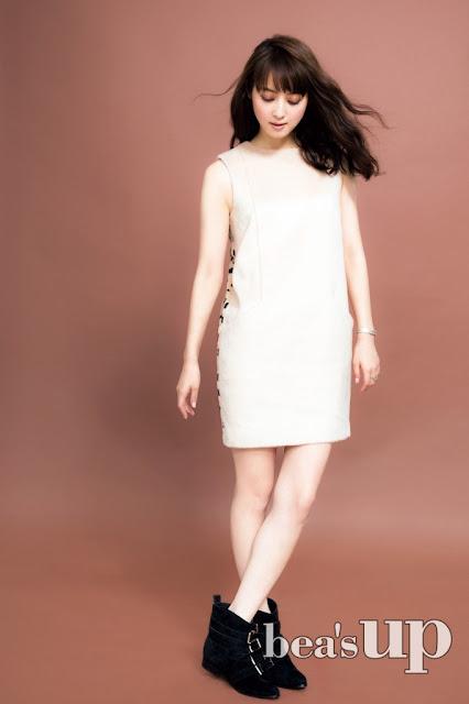 佐々木希 Sasaki Nozomi Bea's Up Images 5