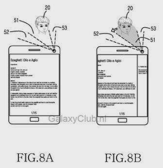 Galaxy S5 akan memiliki fitur kontrol dengan gerakan kepala