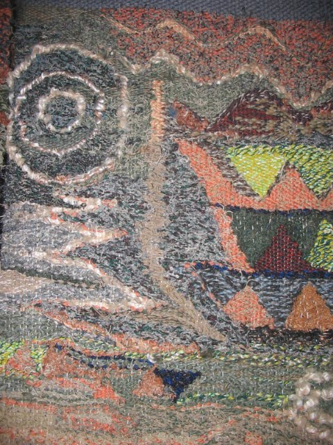 SCHUCMAN, Henrique. Detalhe de tapeçaria na técnica de Gobelin.