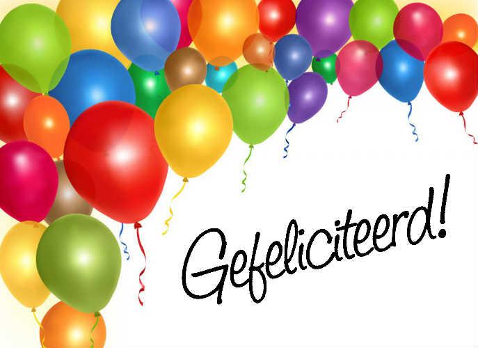 Favoriete gefeliciteerd met je verjaardag: van harte gefeliciteerd JO-21