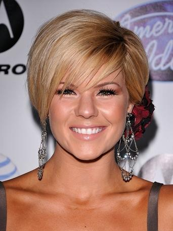 Short Bob Hairstyles for Round Faces