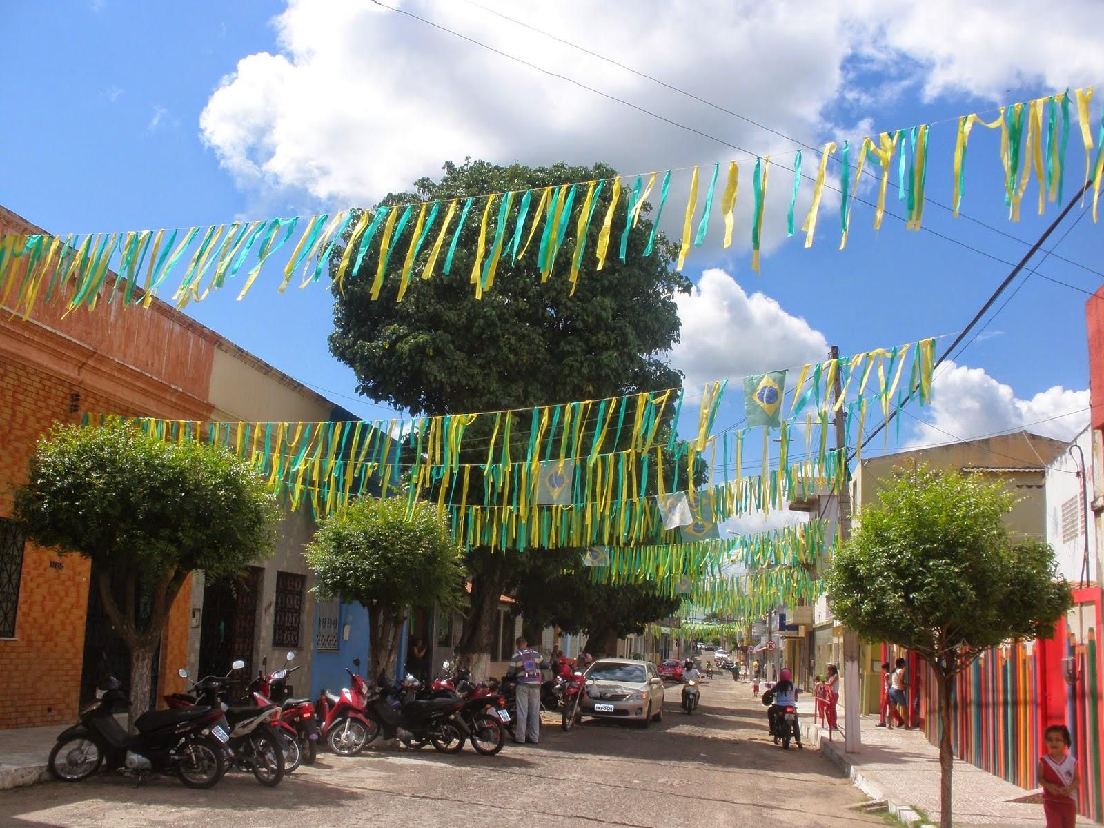 Rua da Goela em Ipu está pronta para o grito de gol