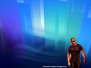 Vin Diesel Desktop Wallpaper of Vin Diesel Wheelman the movie at Crystal Landscape Desktop Wallpaper
