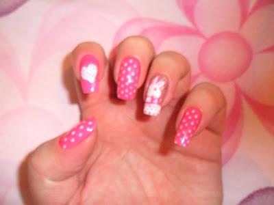 unhas em homenagem ao outubro rosa by rosangela doblins6