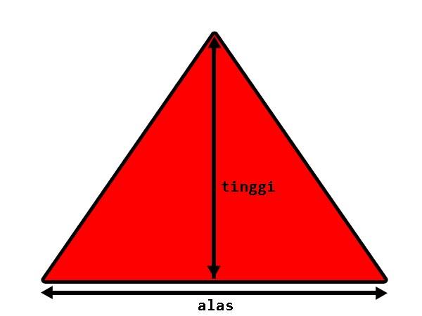 heriady blog: Teori Deteksi Tabrakan Objek Segitiga dan Titik