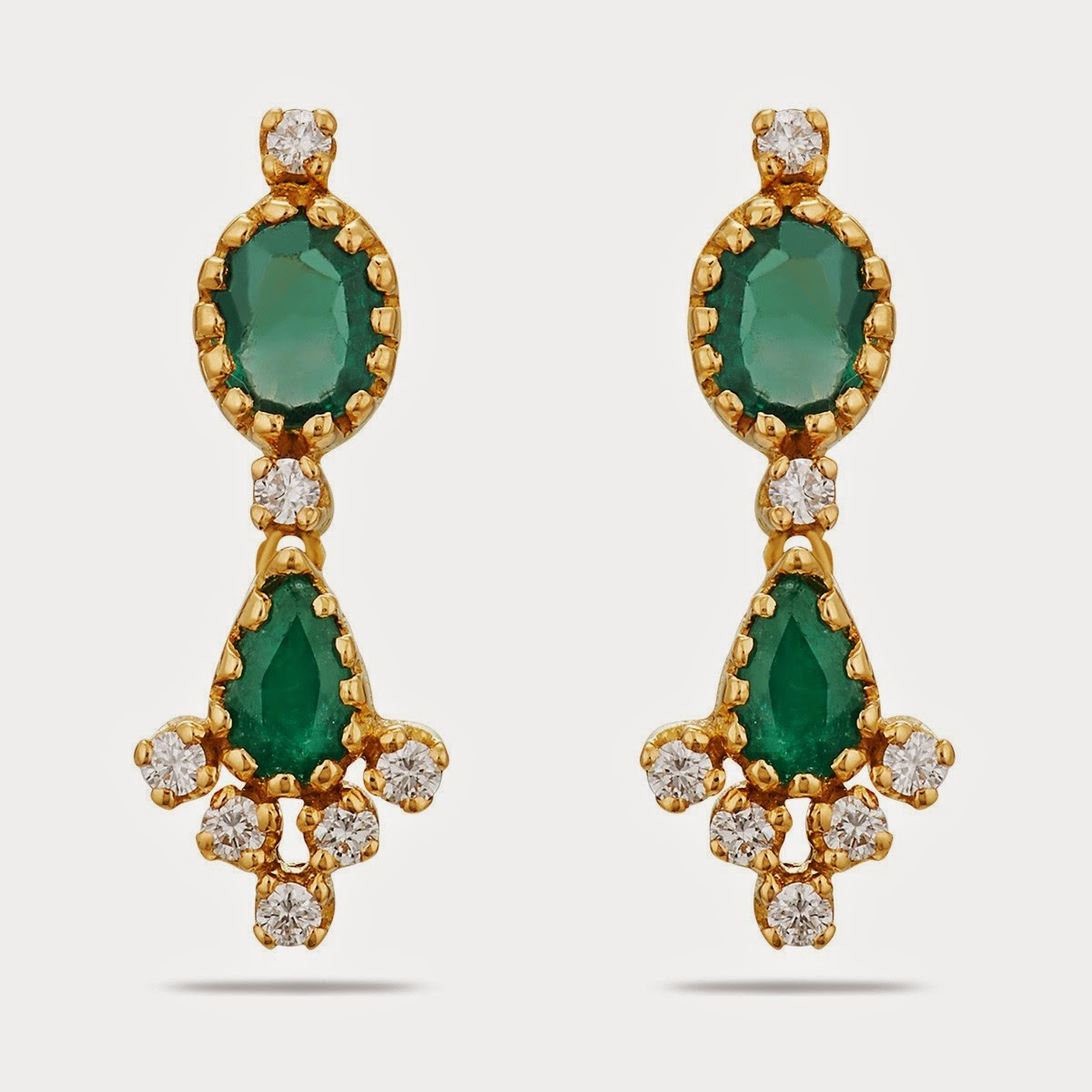 Thangamayil Diamond Earring Models
