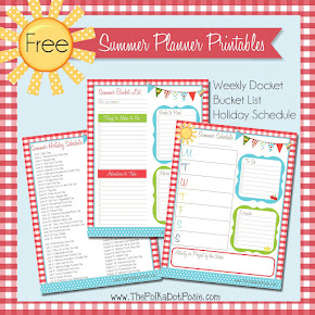 Download our NEW Summer Planner Printables!