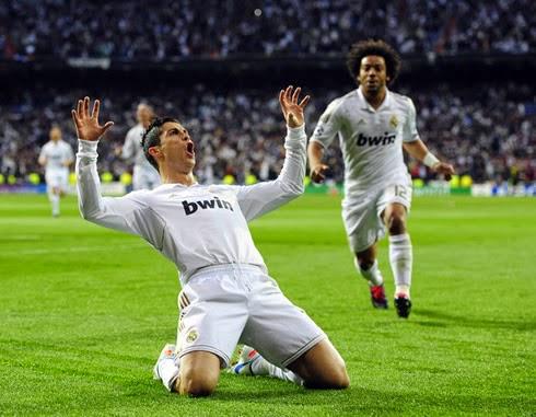 Cristiano Ronaldo celebrations