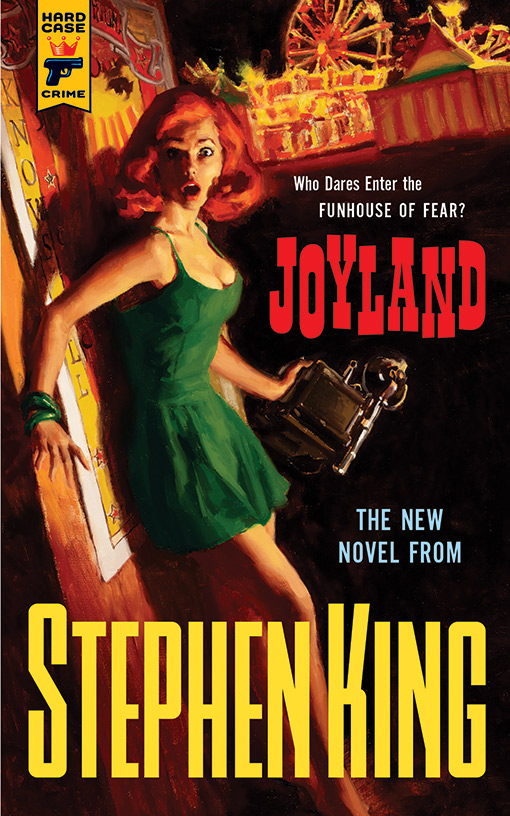 Sthepen King´s Joyland Book Cover